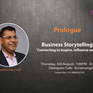 Prologue on Business storytelling 3rd Aug 2017